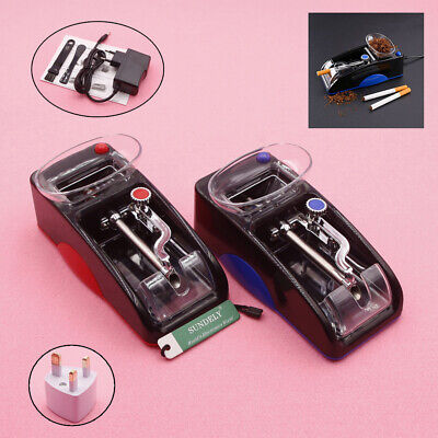 DIY Electric Automatic Cigarette Roll Machine Tobacco Injector Make Roller