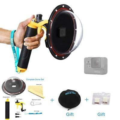 "TELESIN 6"" Underwater T05 Dome Port Diving Obiettivo Fotografia Porta Dome..."