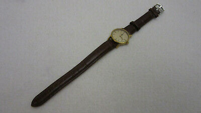 Omega De Ville Ladies Gold Plated Manual Wind Watch