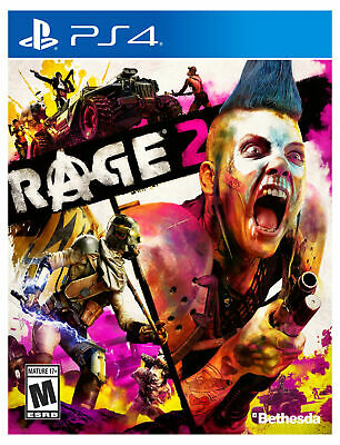 Rage 2 -- Standard Edition (Sony PlayStation 4, 2019) Brand New Sealed!