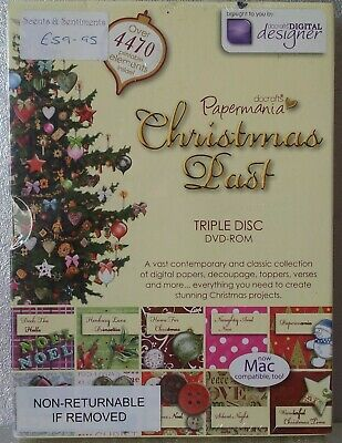 Papermania Christmas Past Triple Disc DVD-Rom