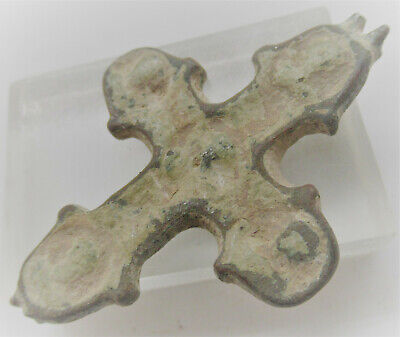 Detector Finds One Side Of A Byzantine Double Sided Encolopion Cross Rare