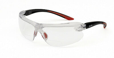 Bolle IRI-S - Safety Glasses - Clear Lens With Dioptric Reading Area