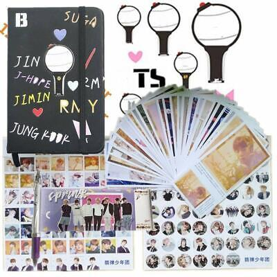 Bts Bangtan Gifts Set For Army- 1Pcs Kpop Bts Bangtan Boy Cartoon Pu Notebook |