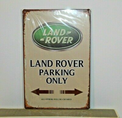 LRMS1 Land Rover Metal Sign New 30 cm H X 20 cm W