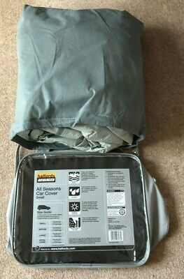 Halfords Car Cover for Small Cars Grey
