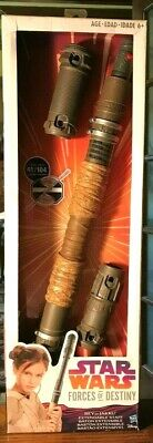 Disney Store Star Wars Rey of Jakku Extendable Staff Costume Prop Accessory NIB