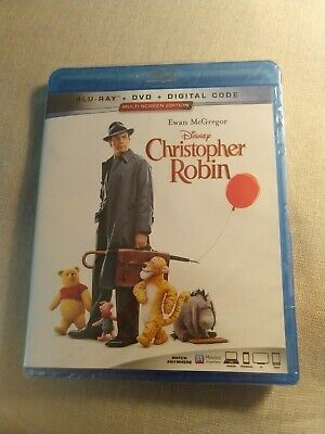 CHRISTOPHER ROBIN (Blu-Ray / DVD) Sealed