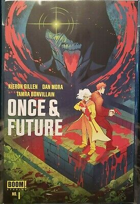 Once and Future 1 1st Print Comic Hub Variant Boom! Studios Gillen