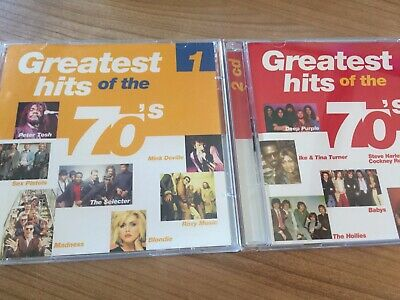 GREATEST HITS of the 70s 1 & 2 Various Artists 2x2CD 1970s Music CDs