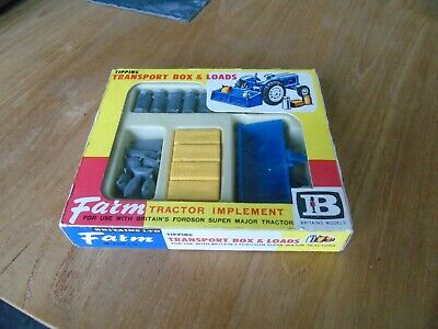 Britains Tipping Transport Box & Loads no 9545 1/43