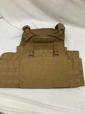 Mayflower Velocity R&C Plate LPAAC XL Low Profile Armor Carrier Coyote Scarab