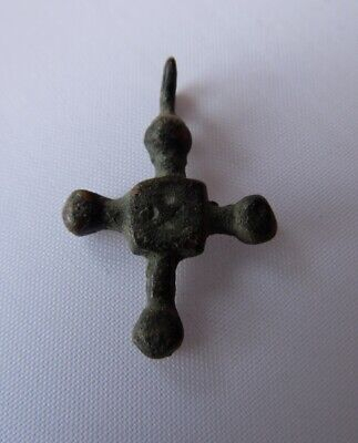 Authentic Ancient Viking Norse Cross Pendant Kievan Rus 12th century*