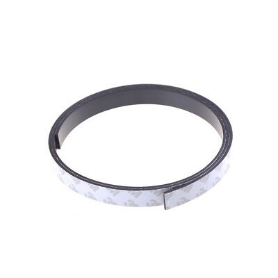 10*2mm 1 Meter self Adhesive Flexible Magnetic Strip Rubber Magnet Tape DSRDR