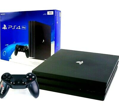 SONY PS4 PRO Konsole 1TB + Wired Controller - Neu Originalverpackt