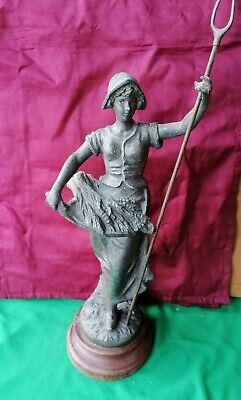 Antique French Spelter Figure