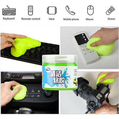Air Outlet Dust Cleaner Gel  Crystal Clay Sponge Mud Remover Car Cleaning Glue