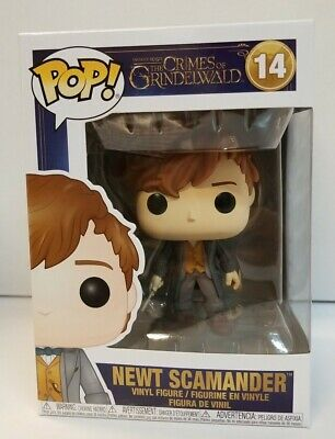 Funko Pop Fantastic Beasts 2 Newt Scamander paris Exclusive