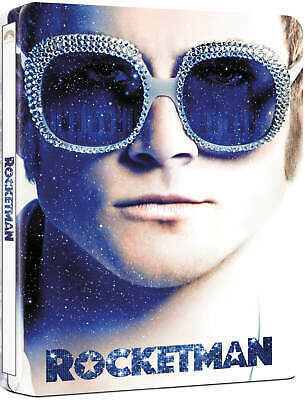 ROCKETMAN : 4K UHD + BLU-RAY (UK EXCLUSIVE STEELBOOK ) ELTON JOHN,  Pre-Order