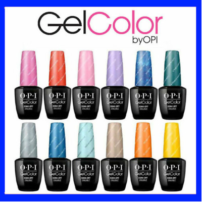"OPI GelColor Soak-Off LED/UV Gel Nail Polish 0.5oz ""Pick Any"" Free Shipping"