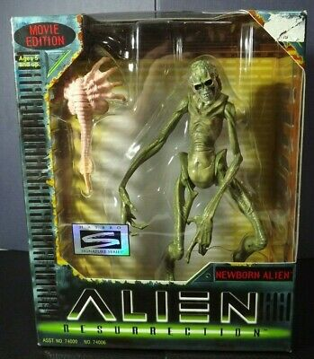 Alien Resurrection NEWBORN ALIEN Action Figure Signature Series 1997 - IN BOX