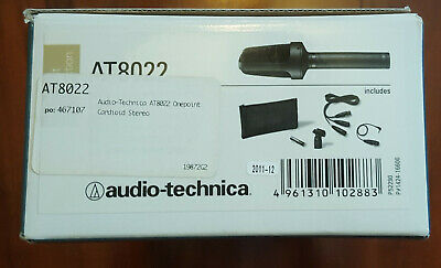 Audio Technica AT8022 X/Y Stereo Condenser Professional Microphone