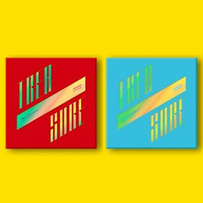 ATEEZ TREASURE EP.3 : One To All ILLUSION + WAVE VER. 2 CD + 6 PHOTO CARD SEALED