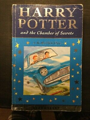 HARRY POTTER and the Chamber of Secrets. 1st print. Bloomsbury.