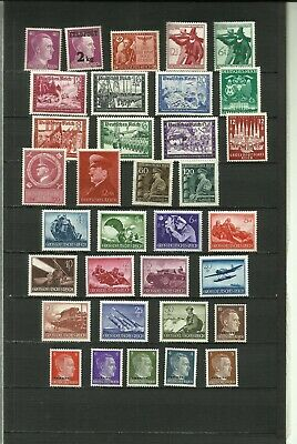 Germany Third Reich, Hitler era MNH, see scan
