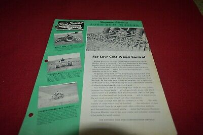 Ferguson Tractor Four Row Weeder Dealer's Brochure AMIL15