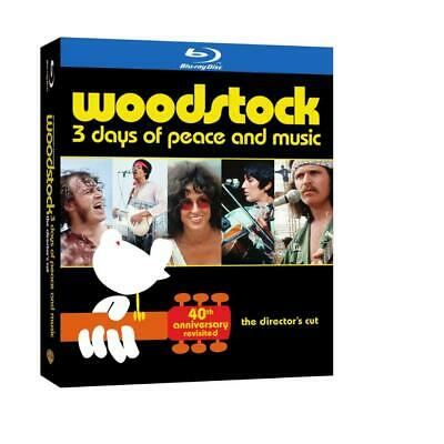WOODSTOCK 40th ANNIVERSARY REVISITED BLU-RAY-3 DISC BOX SET UPDATED TO ALL HD!!!