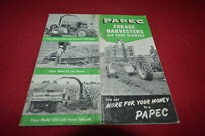 Papec 151D Forage Harvester Dealer's Brochure AMIL15