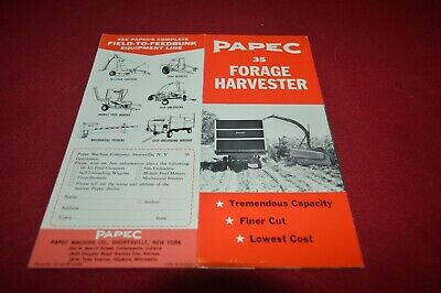 Papec 35 Forage Harvester Dealer's Brochure AMIL15