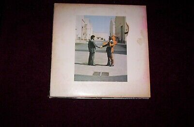 Pink Floyd Wish You Were Here 1975 Columbia Pc 33453,cover Re Pics Vinyl&play Gd