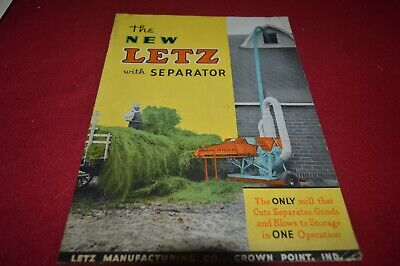 Letz Feed Grinders With Separator Dealer's Brochure AMIL15 ver2