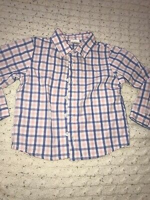 18 Month Starting Out Button Down Shirt Boys
