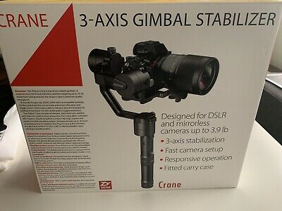 Zhiyun Crane 2 3-Axis Camera Stabilizer - Black