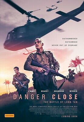 Danger Close The Battle Of Long Tan Admit 2 Cinema Tickets Movie Pass