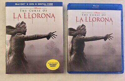 THE CURSE OF LA LLORONA (Blu-ray + DVD + Digital, 2019) Slipcover; COMPLETE