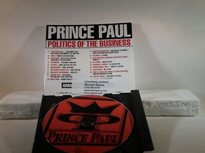 Prince Paul - Politics of the Business -  Promo Only CD (RTADV 82888-2)