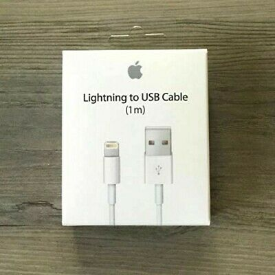Genuine Lightning USB Charger Cable 1M 2M For Apple iPhone 8 7 6 5 X XS iPad