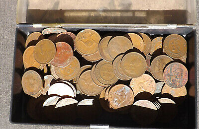 almost  300 grms lot of Australian pennies