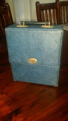 Vintage Retro Music Cassette Tape Storage Case - Holds 20