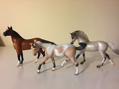 Breyer Stablemate Horse Lot of x3 with Star Stable Online Starter Pinto Custom