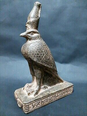 RARE ANCIENT EGYPTIAN ANTIQUES Statue Of God HORUS Falcon Egypt Stone BC