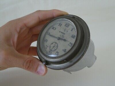 Old 9 Days Automobile Dashboard Car Clock