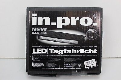 in.pro. 43729 schmales Tagfahrleuchten-Set universell in klarer Optik