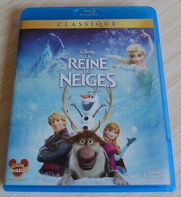 Blu Ray  Walt Disney La Reine Des Neiges Numero 109