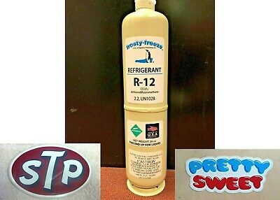 R-12, R12, Refrigerant 12, Dichlorodifluoromethane, LARGE 38 oz, FREE SHIP Kit B
