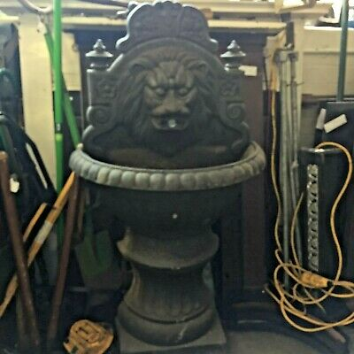 Cast Iron Victorian former drinks fountain